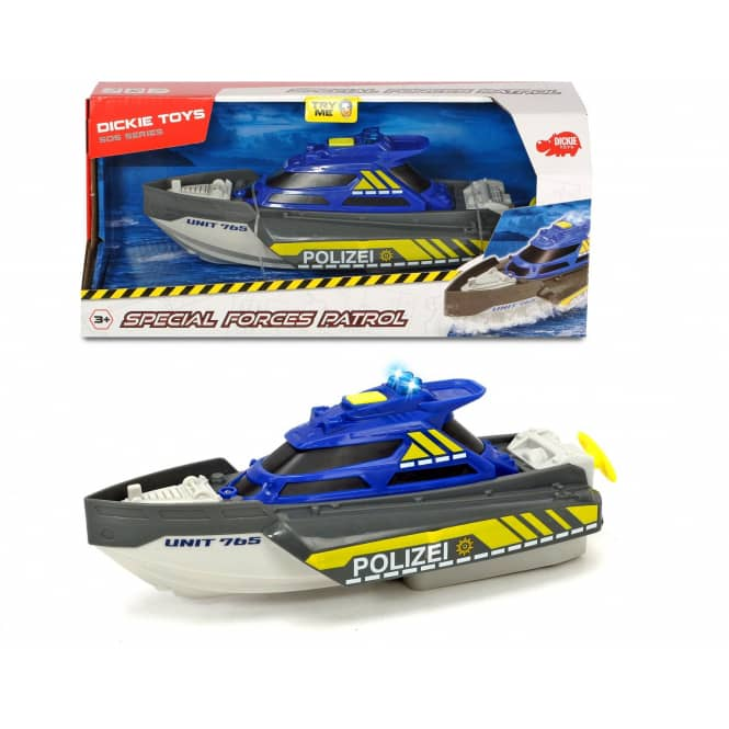 DICKIE - Polizeiboot - Special Forces Patrol