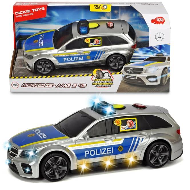 Dickie - Polizeiauto AMG E43 - 1:16