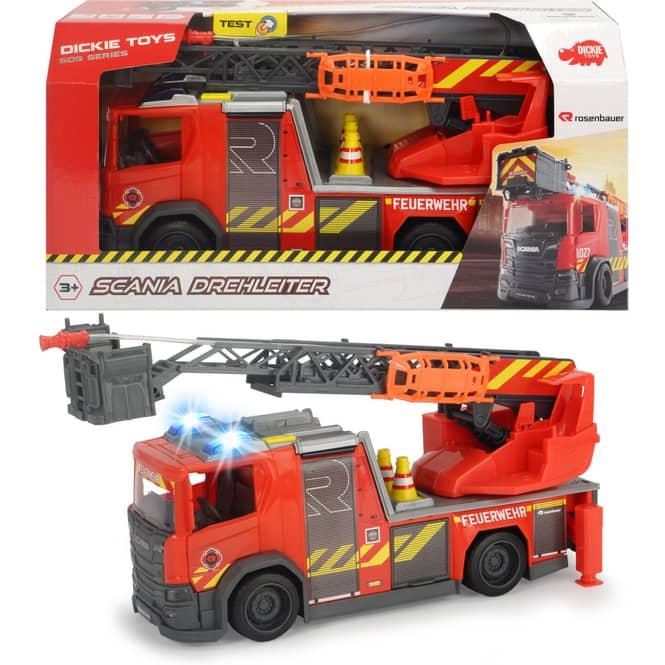 Scania Feuerwehr - Fahrzeug mit Drehleiter