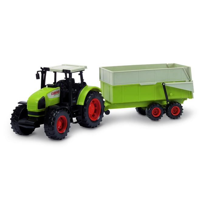 DICKIE Traktor Claas Ares + Anhänger