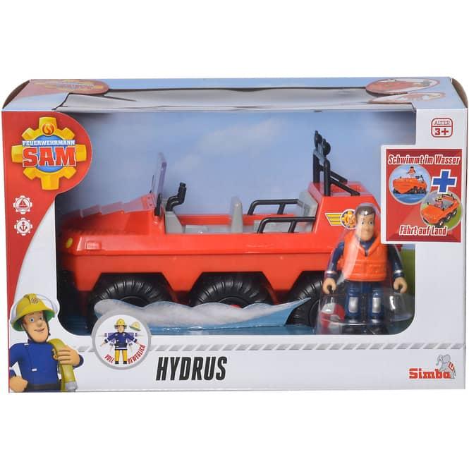Feuerwehrmann Sam - Hydrus mit Figur