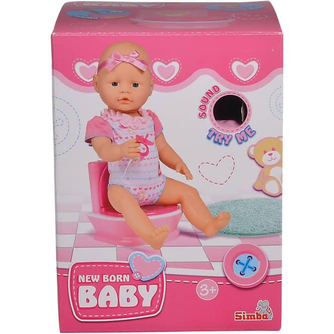 New Born Baby - Toilette