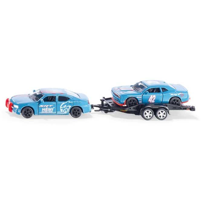 Siku 2565 - Dodge Charger mit Rennauto