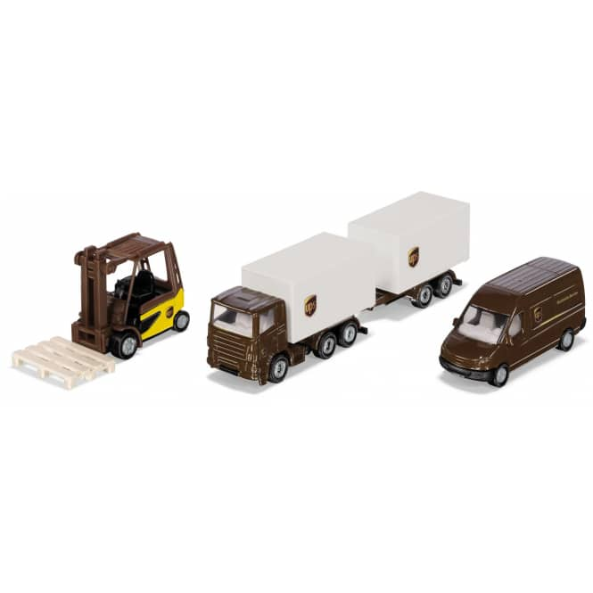 Siku Super 6324 - UPS Logistik Set