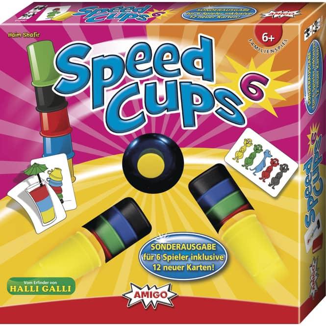 Speed Cups - Sechsfacher Stapelspaß