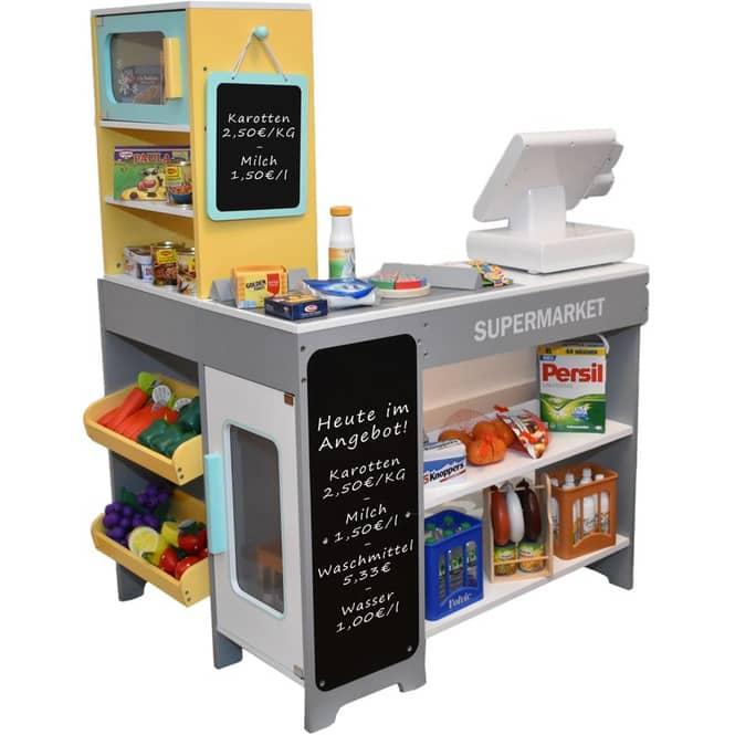 Supermarkt Kassenstation - aus Holz