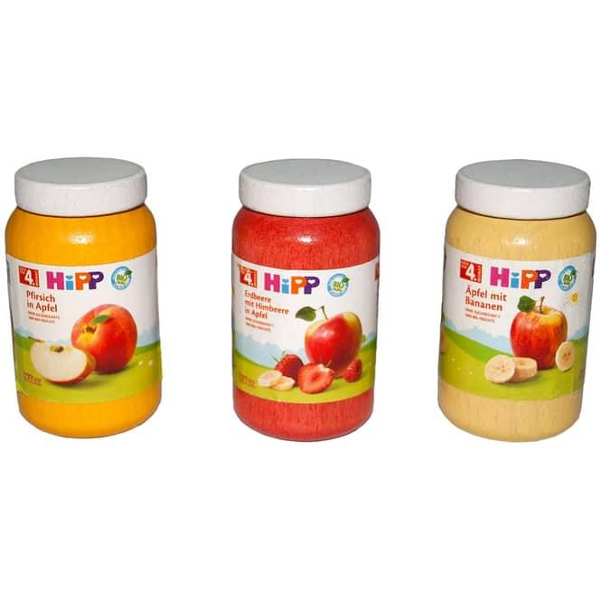 Kaufladenzubehör - Hipp Babybrei - 3er Set