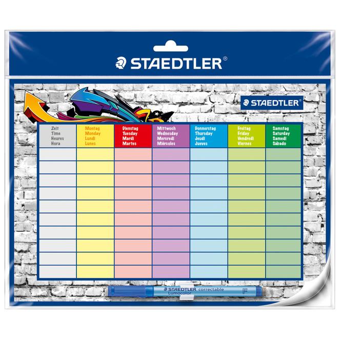 Stundenplan Lumocolor - Staedtler