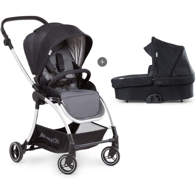 Kinderwagen Eagle - 4S Duoset schwarz/grau