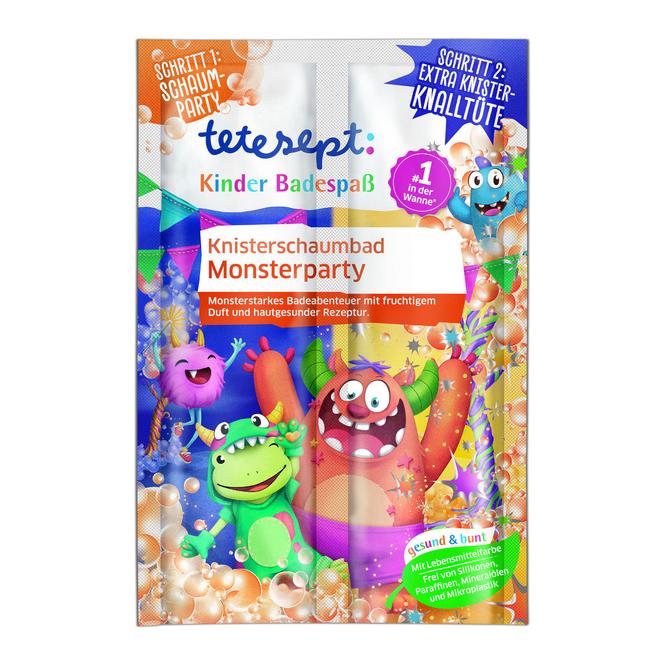 Tetesept - Knisterschaumbad - Monsterparty