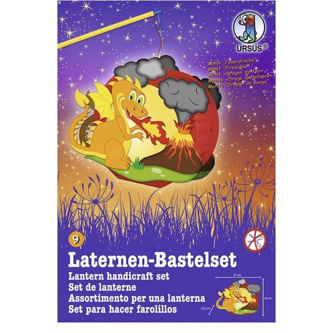 Laternen-Bastelset Feuerdrache