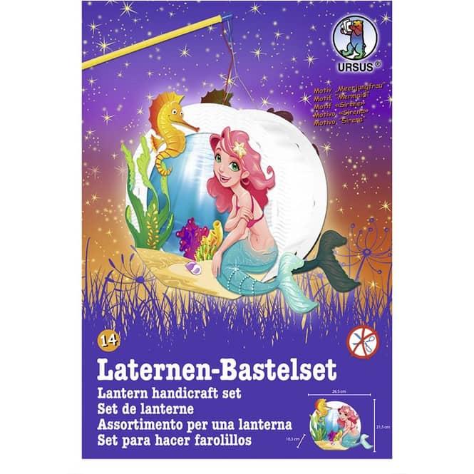 Laternen Bastelset - Mermaid