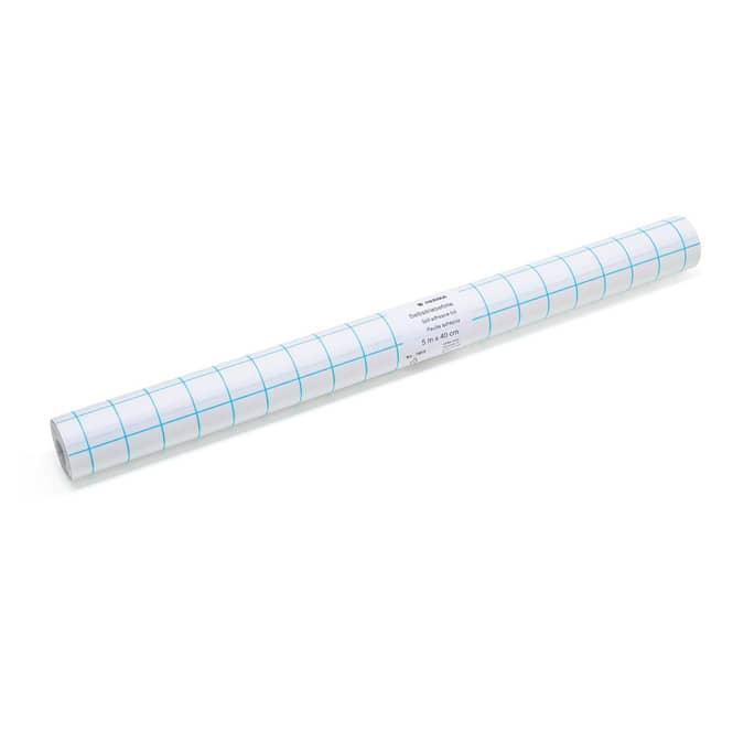 Buchfolie selbstklebend - transparent - 5 m