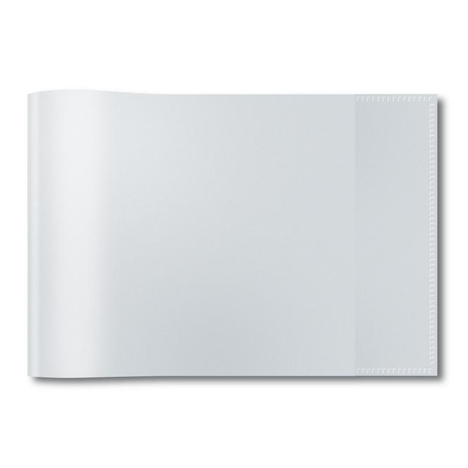 Heftschoner A5 Querformat - transparent