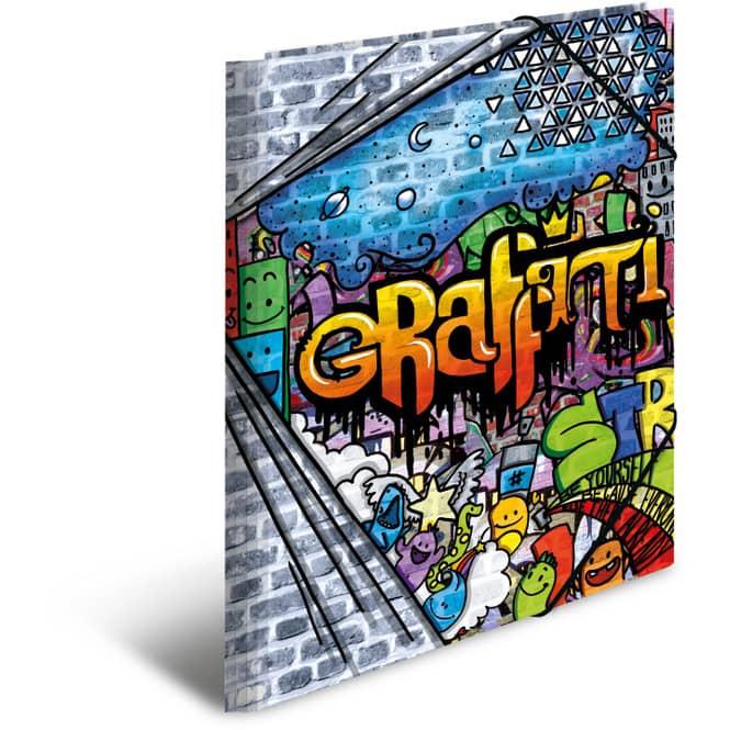 Eckspanner DIN A4 - Graffiti