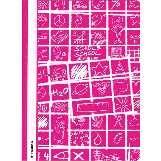 Schnellhefter DIN A4 - Schoolydoo - pink