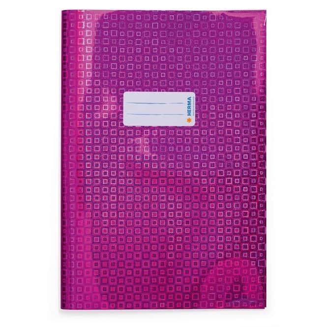 Heftschoner A4 - Glamour - pink holografisch