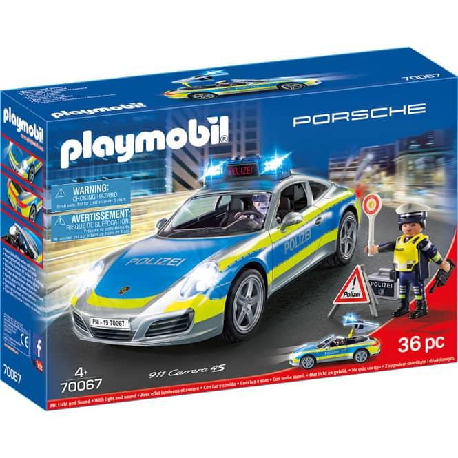 PLAYMOBIL® 70067 - Porsche 911 Carrera 4S Polizei - Playmobil City Action