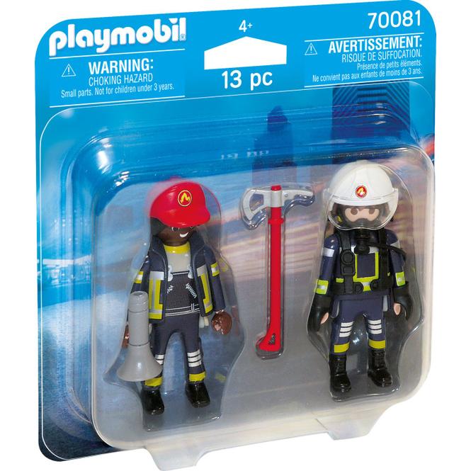 PLAYMOBIL® 70081 - DuoPack Feuerwehrmann und - frau - Playmobil City Action
