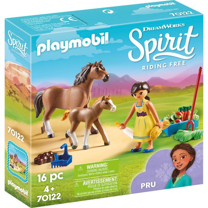 PLAYMOBIL® 70122 - Pru mit Pferd und Fohlen - Playmobil Spirit