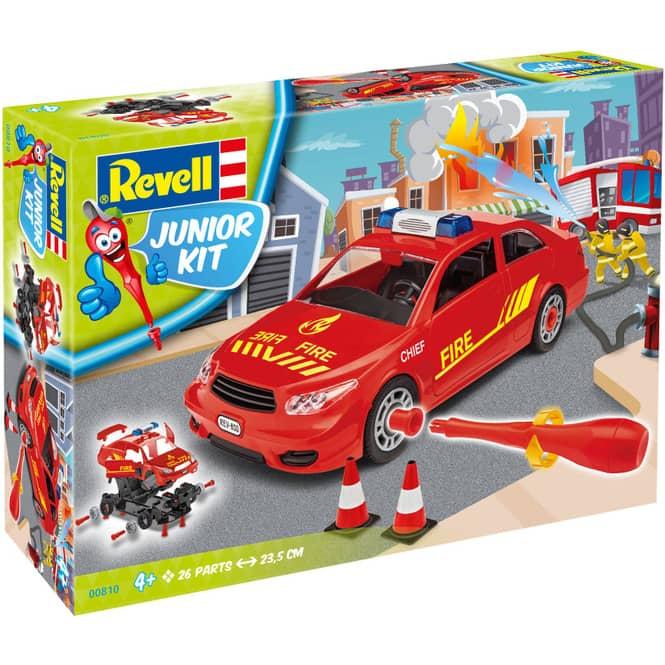 Revell Junior Kit 00810 - Feuerwehr Einsatzauto - Bausatz