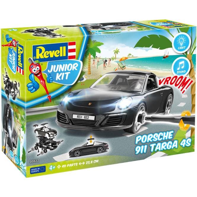 Revell Junior Kit 00822 - Porsche 911 Targa 4S - Bausatz
