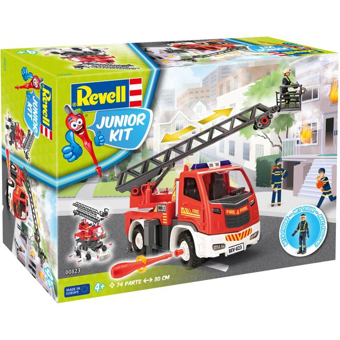 Revell Junior Kit 00823 - Feuerwehr Leiterfahrzeug - Bausatz