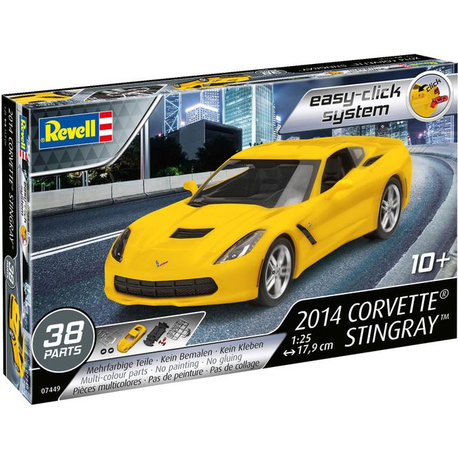Revell 07449 - Corvette Stingray - Bausatz 2014