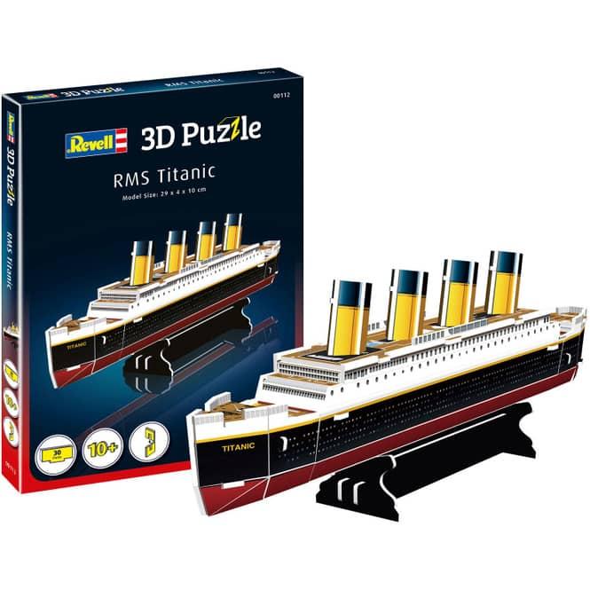 3D Puzzle - Titanic - 30 Teile