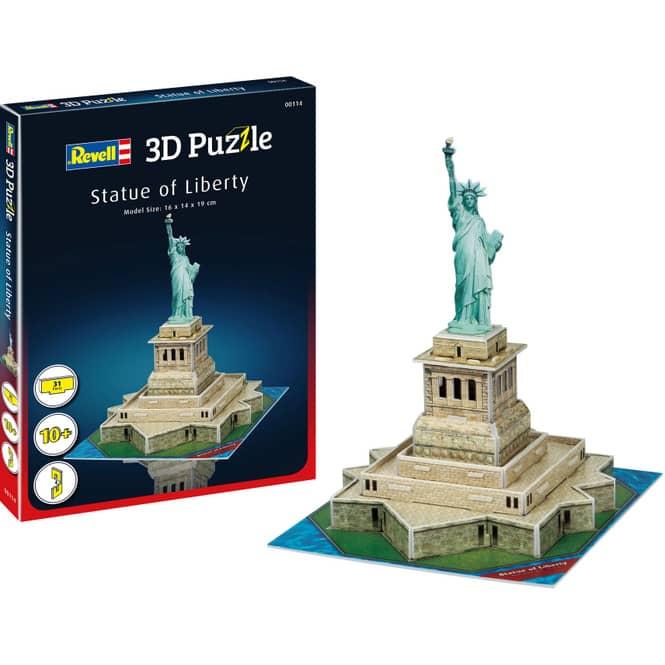 3D Puzzle - Freiheitsstatue New York - 31 Teile