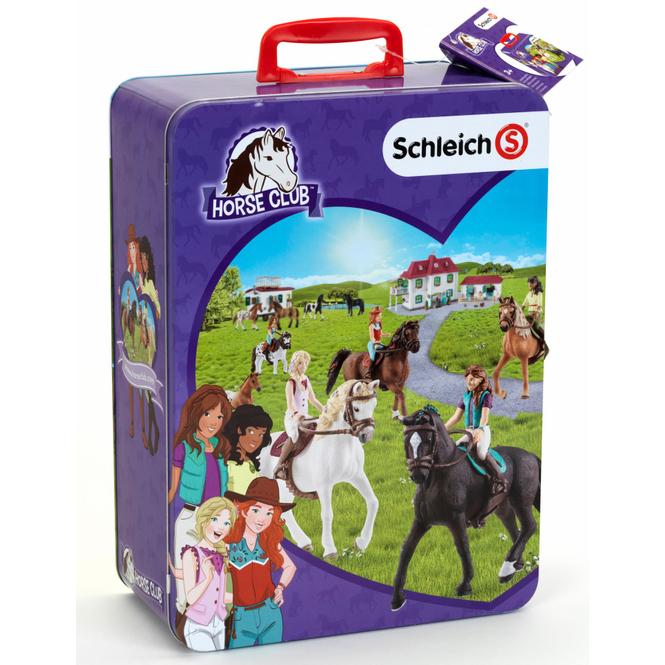 Schleich Horse Club - Sammelkoffer für Pferde