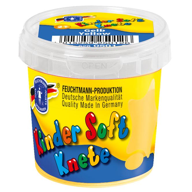 Kinder Soft Knete 150 g gelb gelb