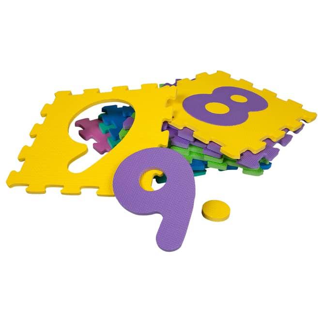 Besttoy - Soft Puzzlematte - Zahlen 0-9 - 10 Teile