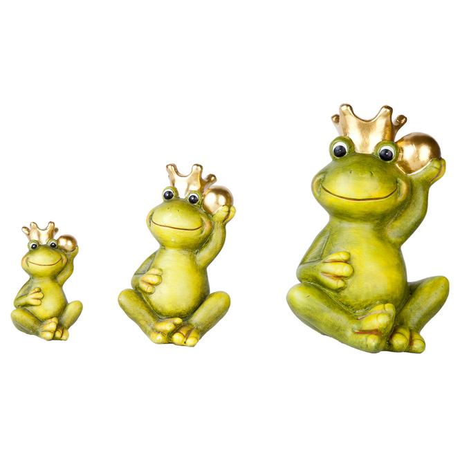 Terrakkotta Froschkönig