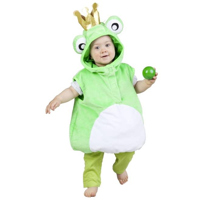Baby Kostüm Plüsch Froschkönig