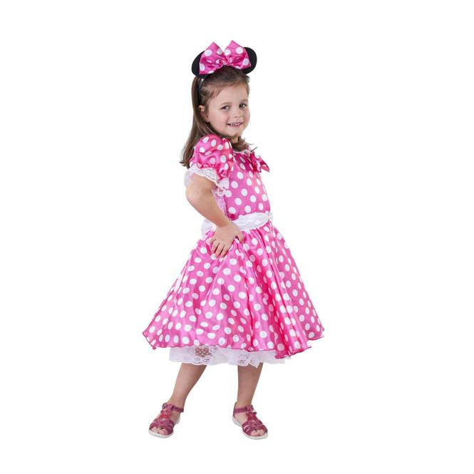 Kostüm - Kleine Maus, in Pink, für Kinder