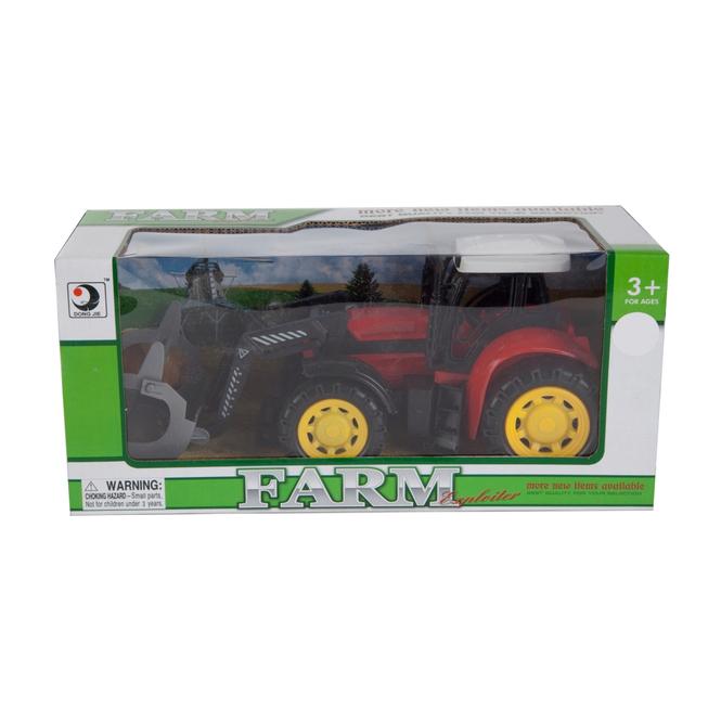 Besttoy Traktor mit Frontlader, 24,5cm