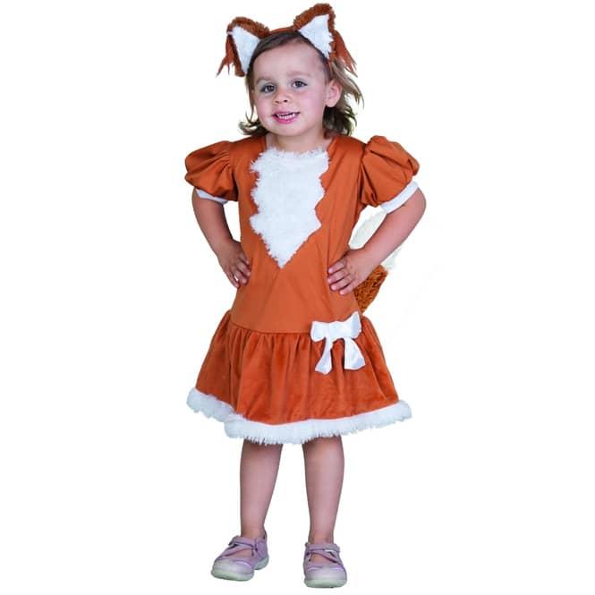 Kostüm kleiner Fuchs