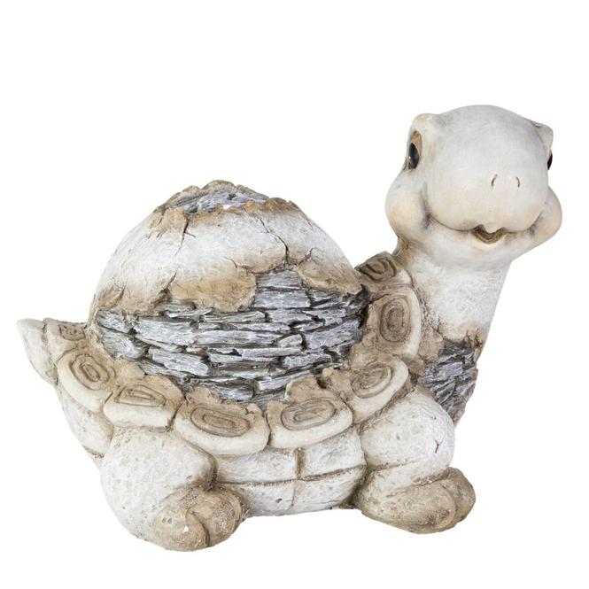 Deko Schildkröte grau - Steinzeug
