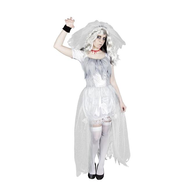 Tote Braut - Kostüm für Erwachsene - in zwei Größen erhältlich