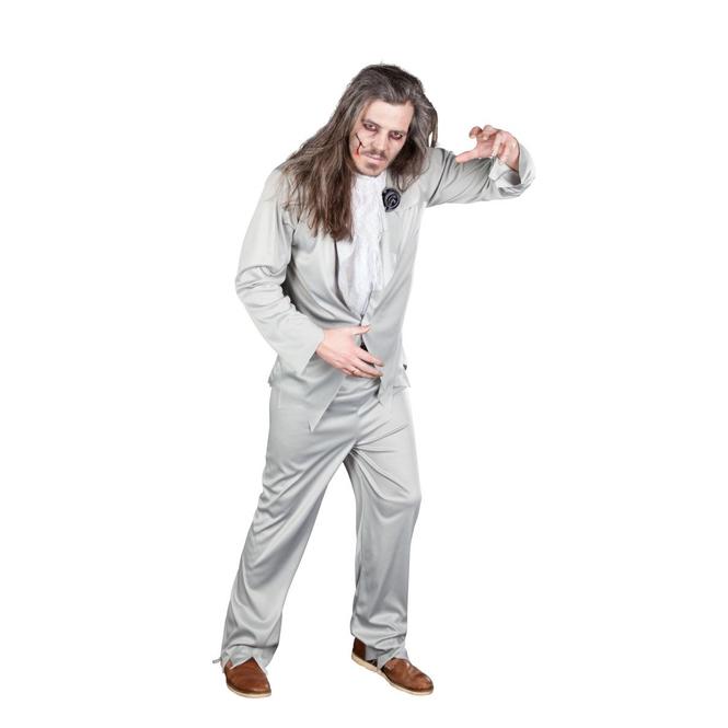 Toter Bräutigam - Kostüm für Erwachsene - 3 Teile - in zwei Größen erhältlich