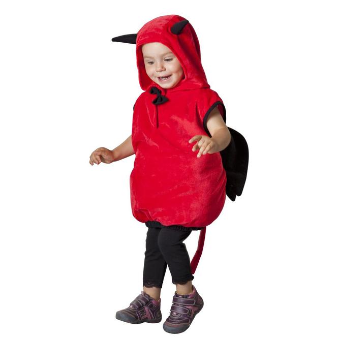 Teufel - Baby Kostüm - in zwei verschiedenen Größen erhältlich
