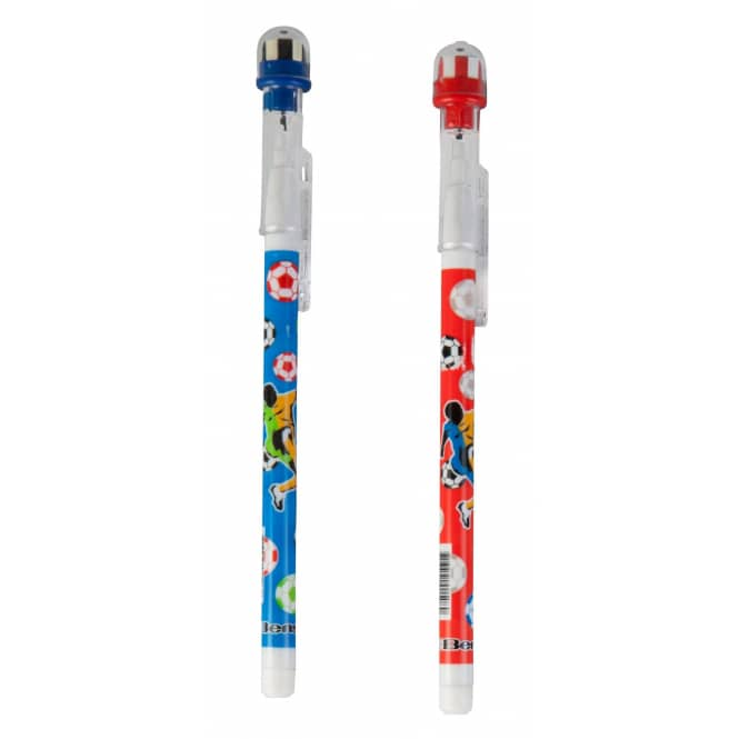 Besttoy - Bleistift-Set mit Radierer - Fußball - 1 Stück - verschiedene Ausführungen