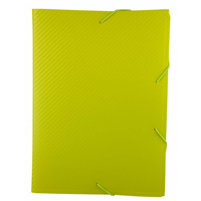 Heftbox A4 - Carbon Design - Grün