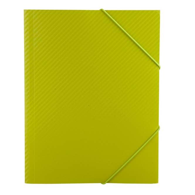Eckspanner A4 - Carbon Design - Grün