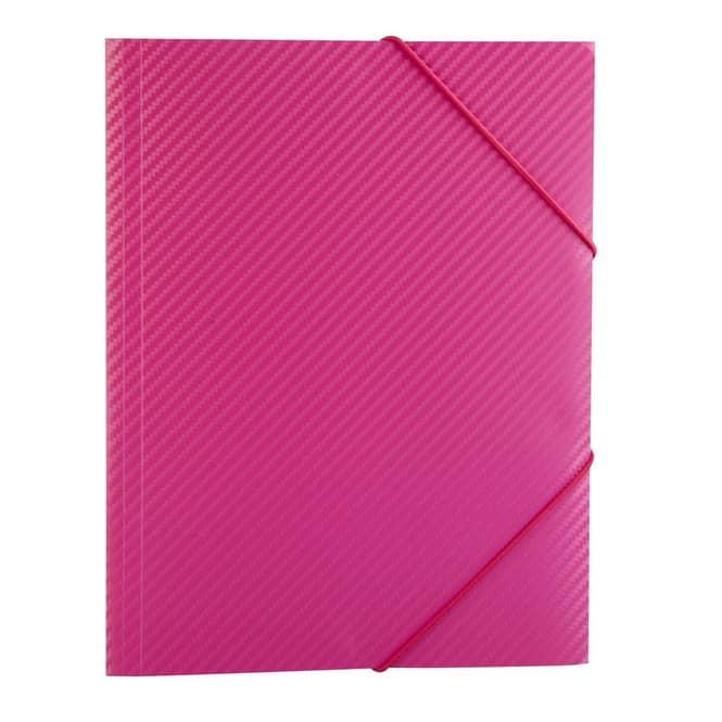 Eckspanner A4 - Carbon Design - Pink