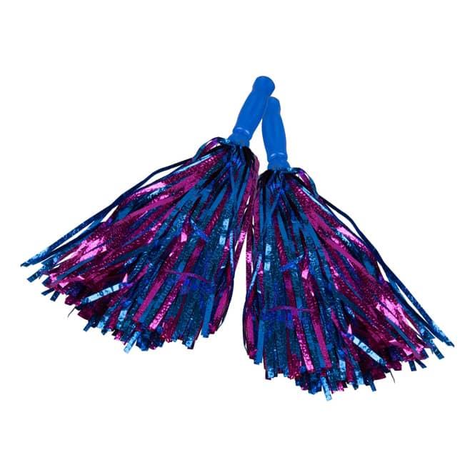 Besttoy - 2er Set Pom Poms - blau-lila