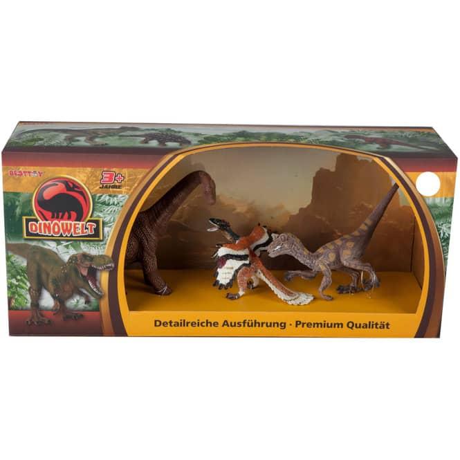 Dinowelt 3er Spielset - 24223