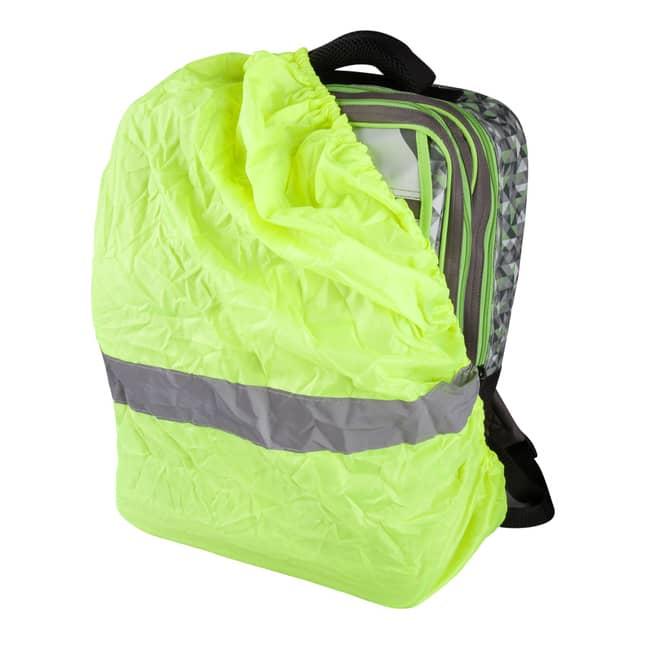 MICA - Regenschutz für Rucksäcke -  mit Tasche und Reflektoren