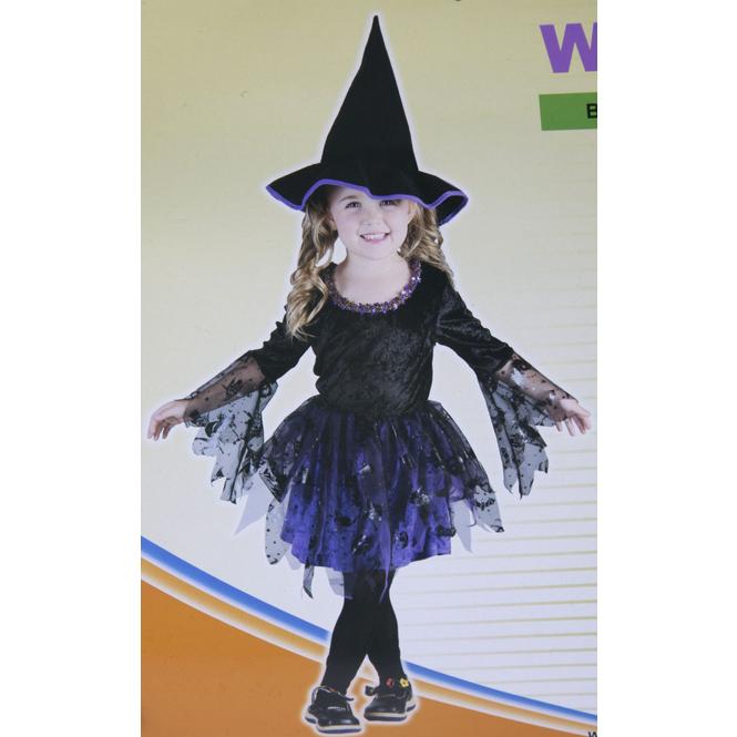 Kostüm - Kleine Hexe, für Kinder - 2-teilig